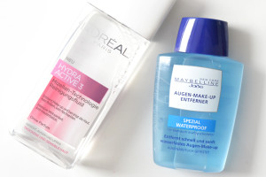 L'Oréal Paris Mizellenfluid & Maybelline AMU Entferner Spezial Waterproof