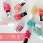 10 Shades Of Summer {Nails}