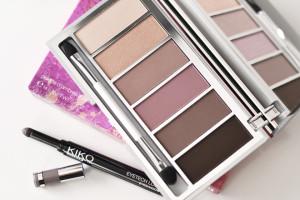 Kiko Generous Earth Palette and Eyetech Look Eyeshadow in 116 Metallic Smoke