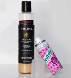 Philip B White Truffle Shampoo & Batiste Dry Shampoo