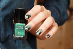 Chanel Azuré Naildesign