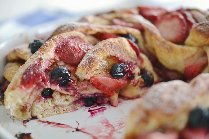 Swirl Bread mit Beeren und Zimt