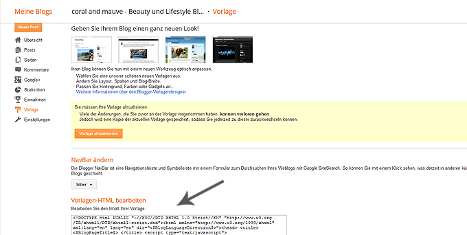 Wordpress Blogger Umzug 4